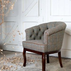 Tetrad Harris Tweed Victoria Chair